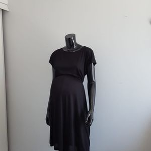 Mama Martenity Midi Black Size L